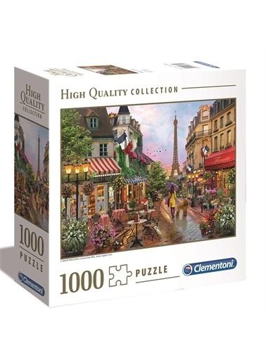 Clementoni Clementoni Flower In Paris 1000 Parça Puzzle 97635 Renkli